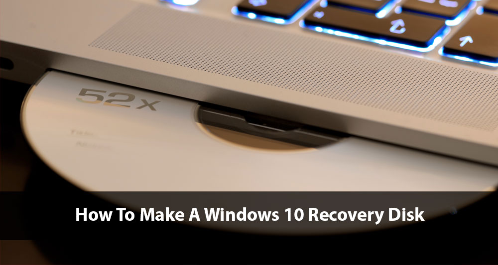 make windows recovery disk